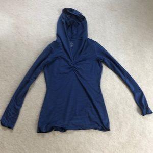 Prana striped hoodie